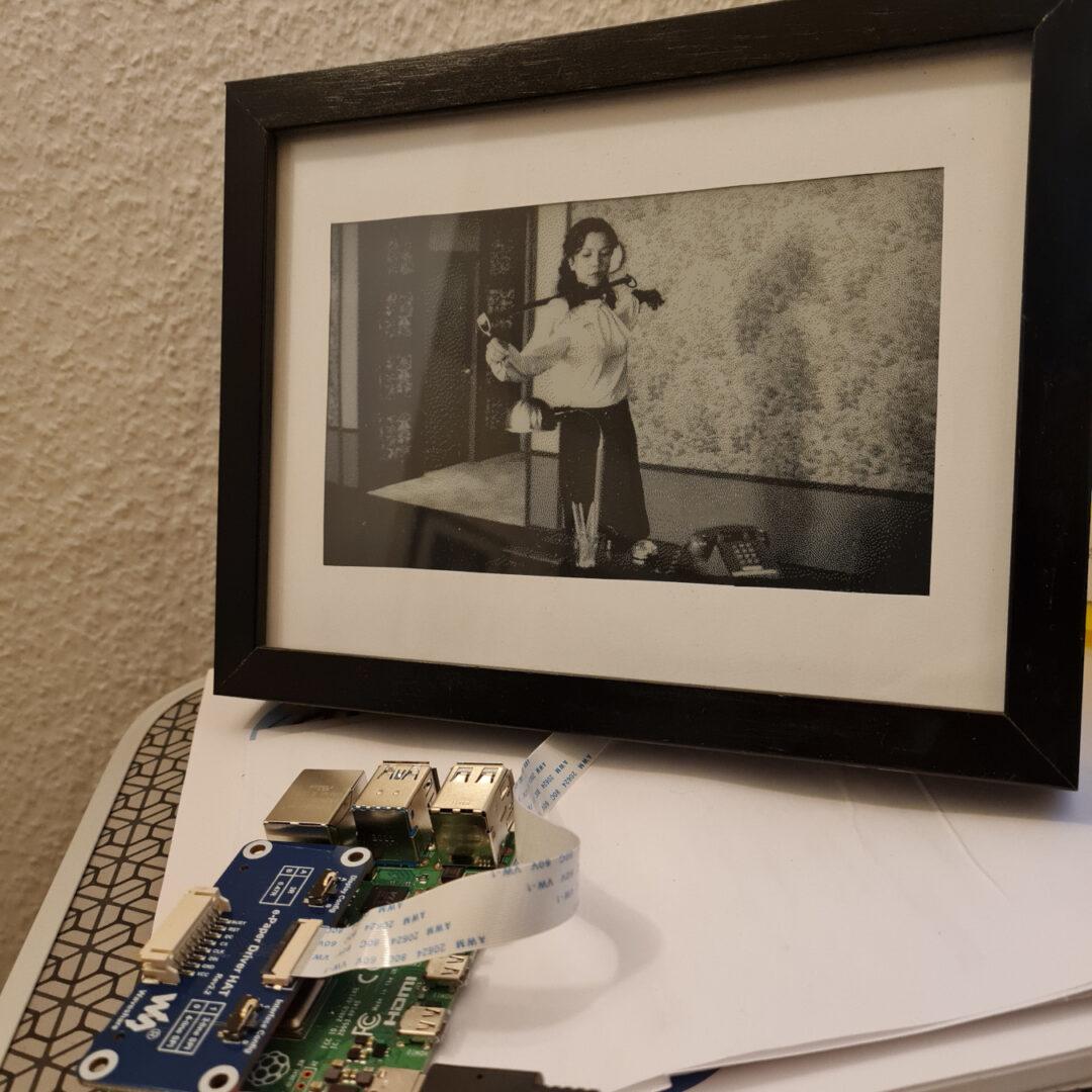 Digitaler Bilderrahmen mit dem Raspberry Pi 4